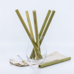 Bambusová slamka