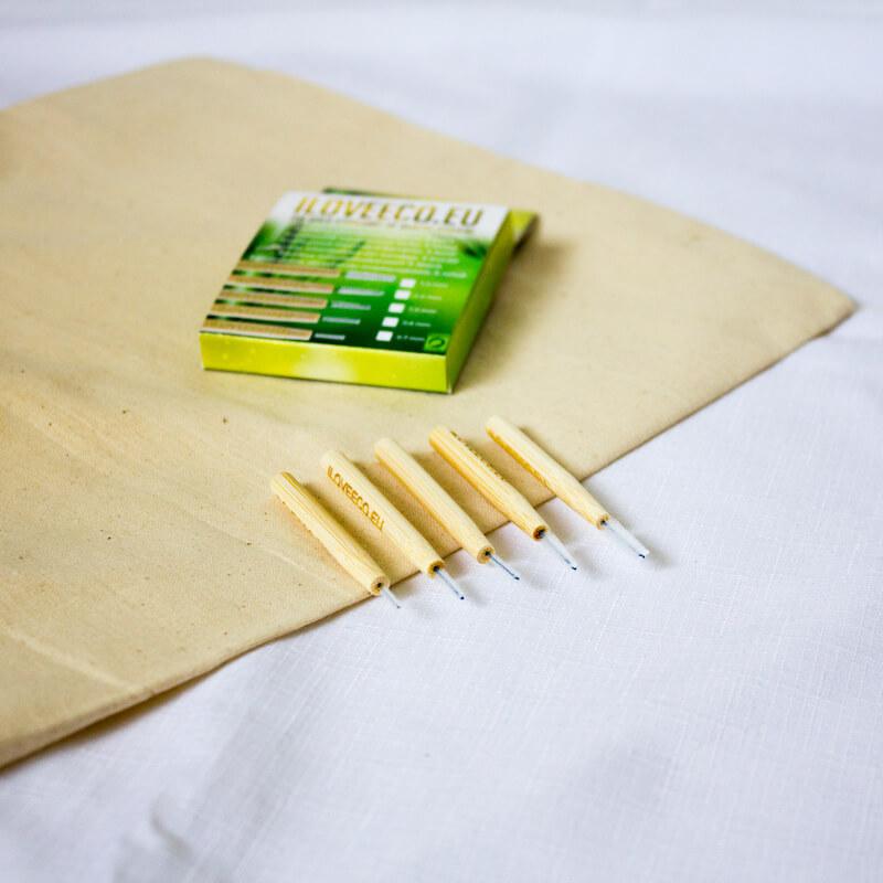 Ekologické bambusové medzizubné kefky