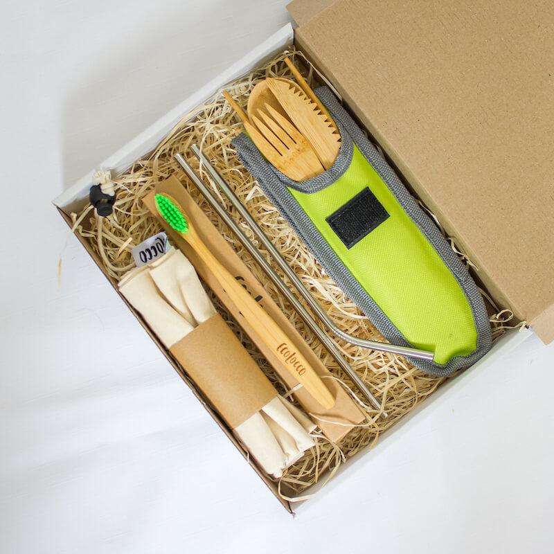 Darček pre cestovateľov, 100% ekologický set
