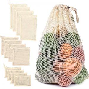 Sieťové nákupné vrecko a taška