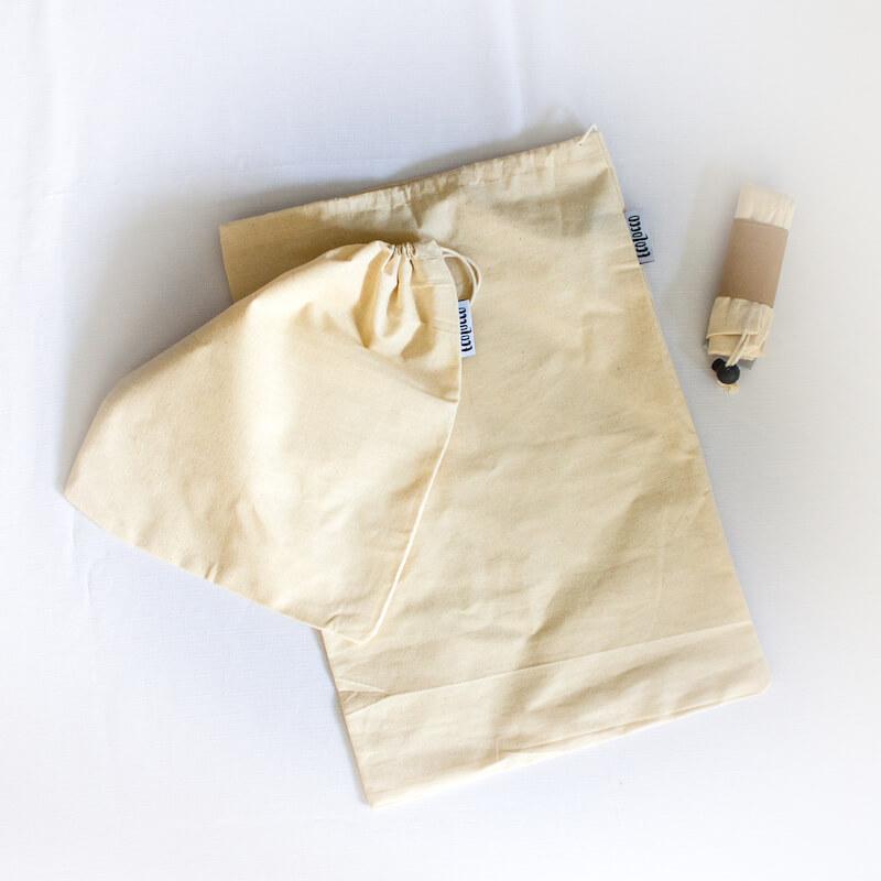 Plátené bavlnené vrecká na chlieb a iné potraviny