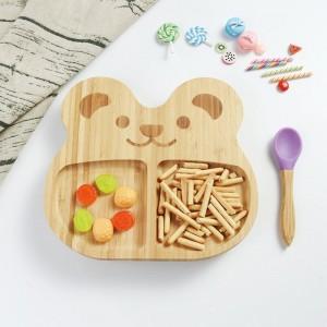 Detský bambusový tanier Zajačik