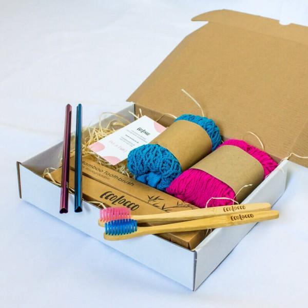 Ekologický darčekový balík Valentín