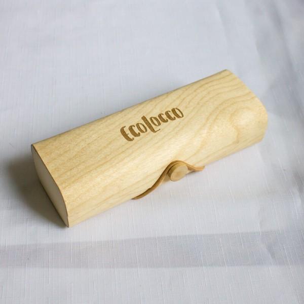 Bambusové puzdro na okuliare