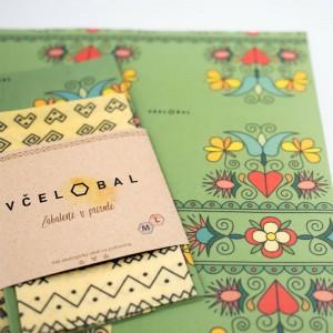 Včelobal –voskový obal na potraviny s včelím voskom