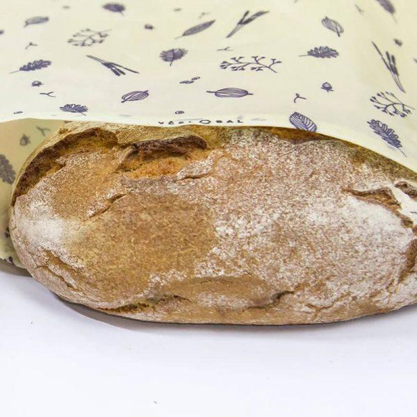 Včelovak - voskový obal na chlieb a pečivo, veľký