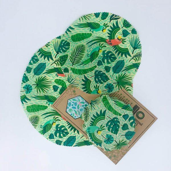 Kruhové voskové obrúsky –voskové obaly