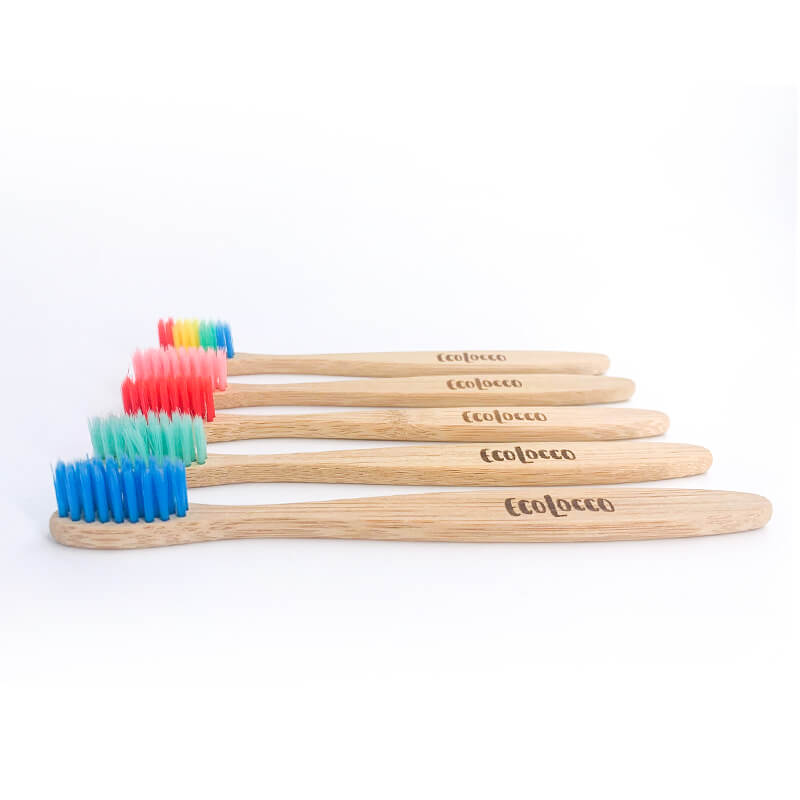Detská zubná kefka –bambusová ekologická